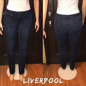 LIVERPOOL Jeans Sadie Straight factory whisking